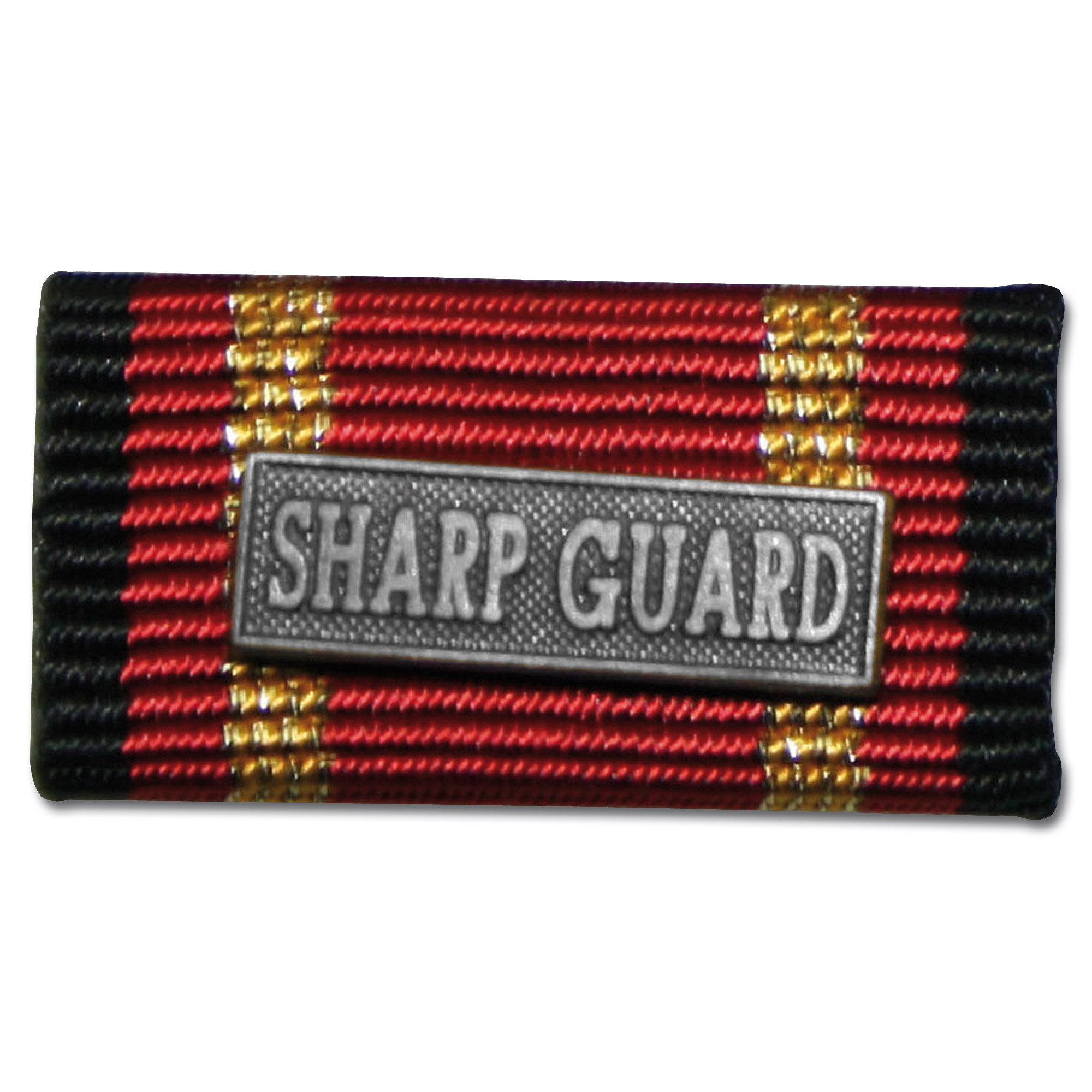 Ordensspange Auslandseinsatz SHARP GUARD silber