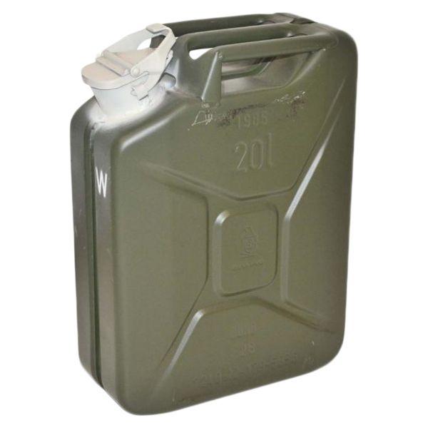 BW Wasserkanister Stahl 20 l gebraucht