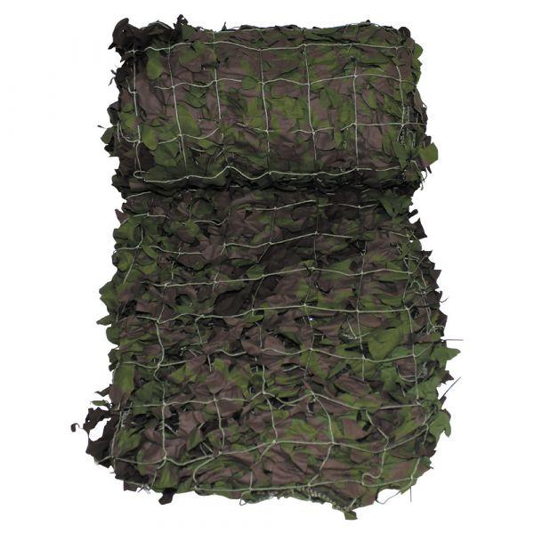 Britisches Tarnnetz geschnitten oliv neuwertig