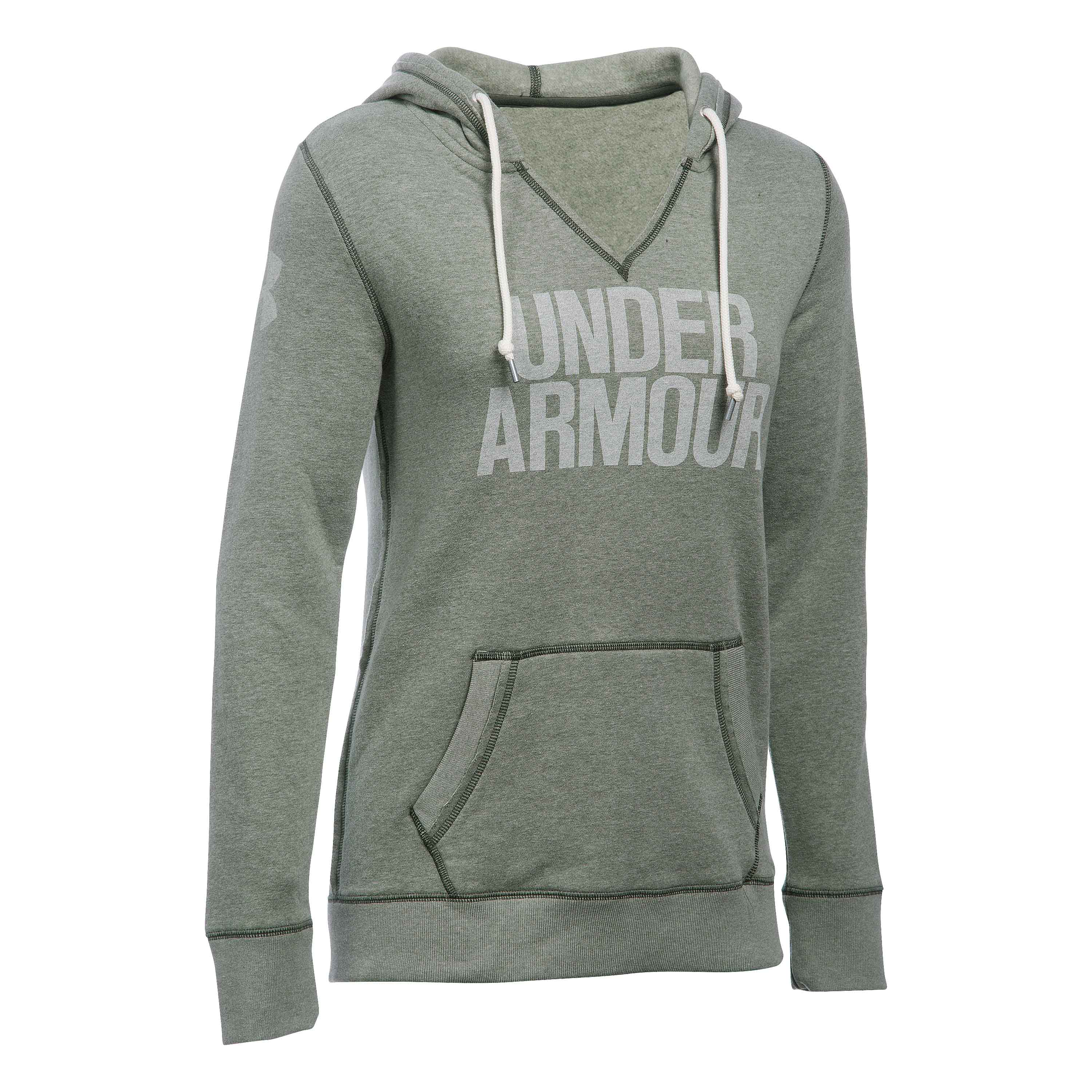 Under Armour Women Pullover Favorite Fleece oliv