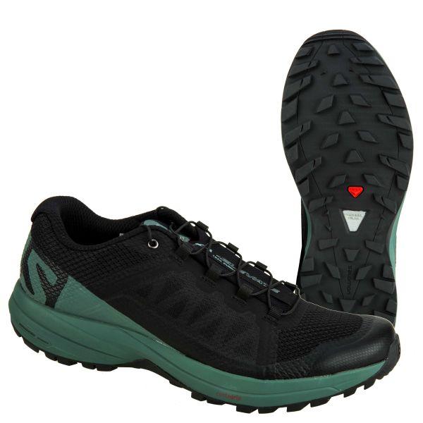 Salomon Schuh XA Elevate schwarz grün