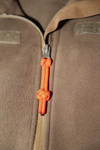 Paracord Zipper Diamond Knot
