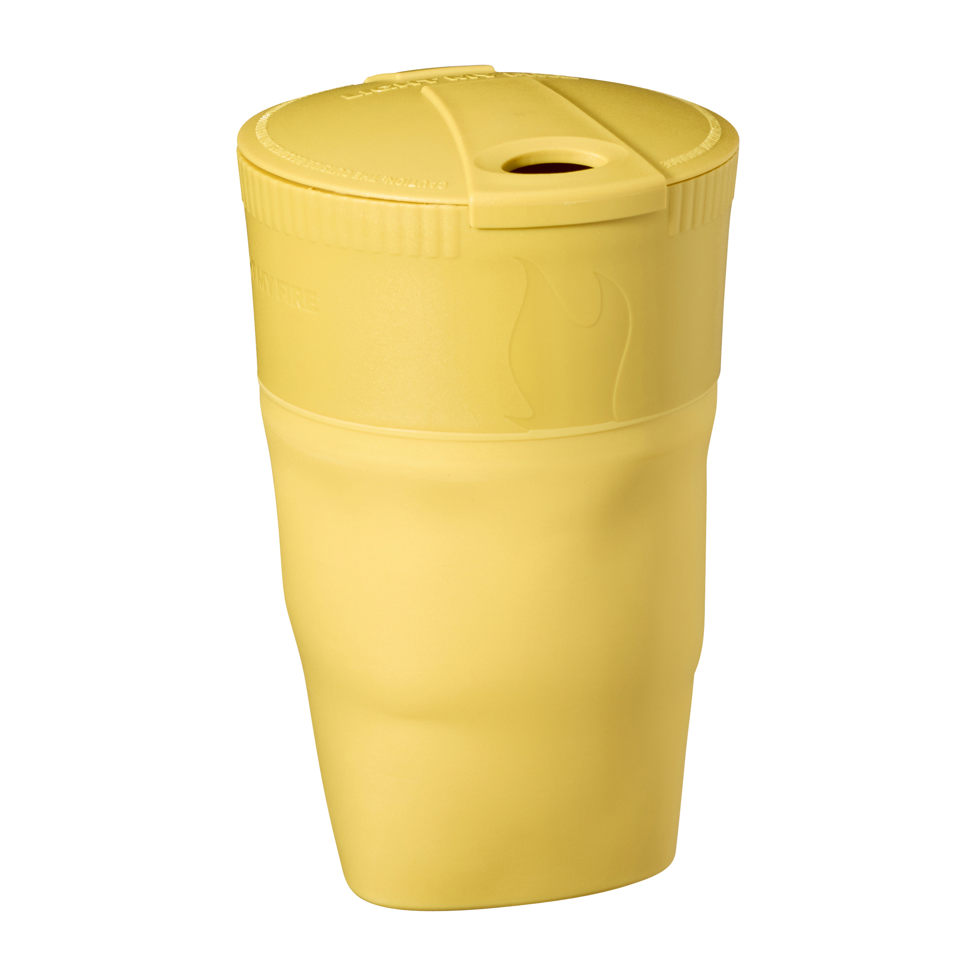 Light my Fire Pack up Cup mustyyellow