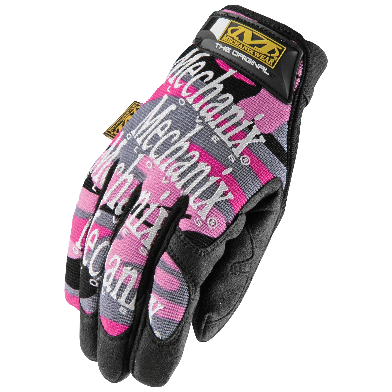 Handschuh Mechanix Original Women pink camo