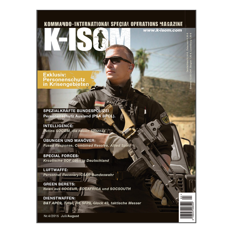 Kommando Magazin K-ISOM Ausgabe 04-2015