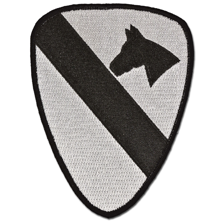 Abzeichen US Textil 1st Cavalry ACU