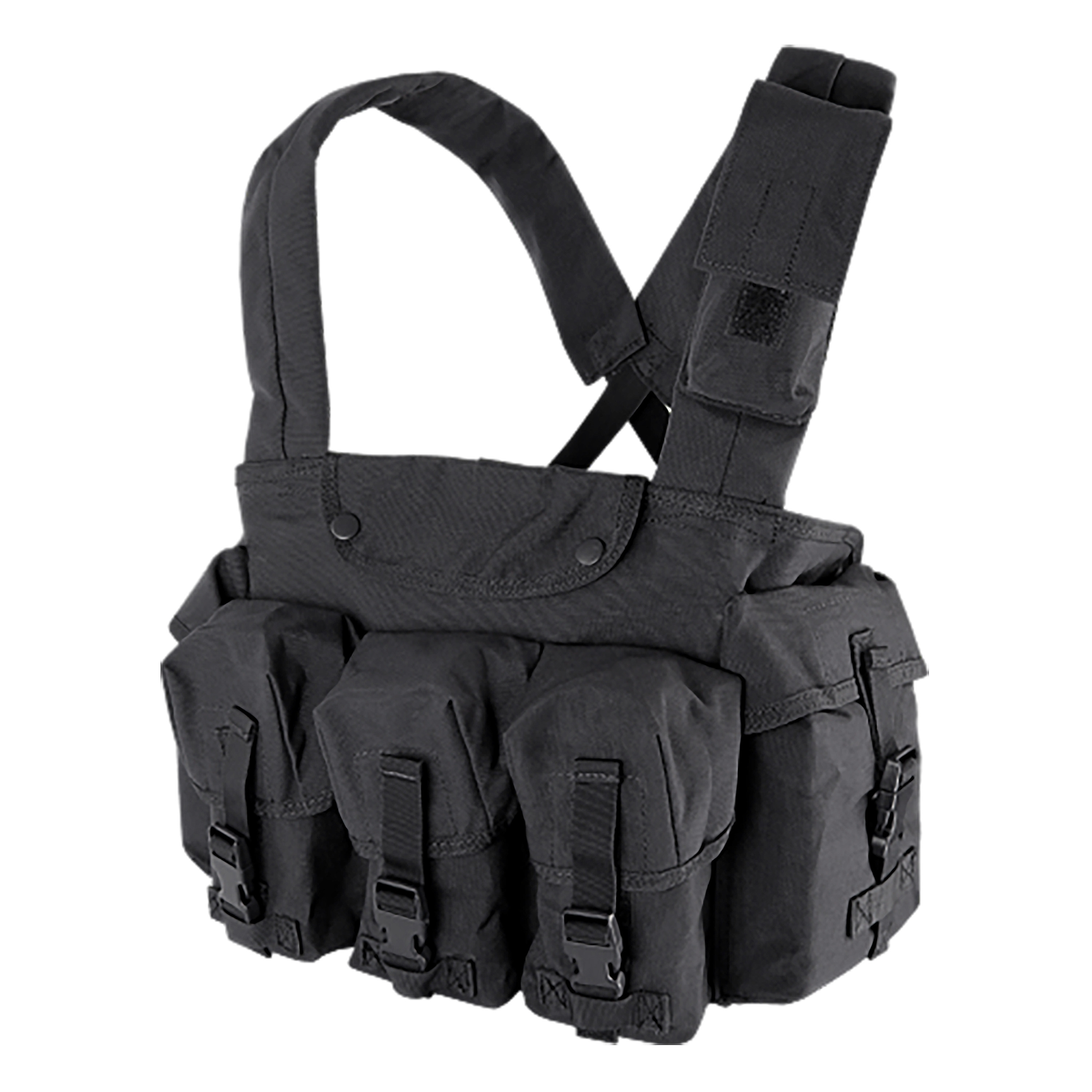 Condor 7 Pocket Chest Rig schwarz
