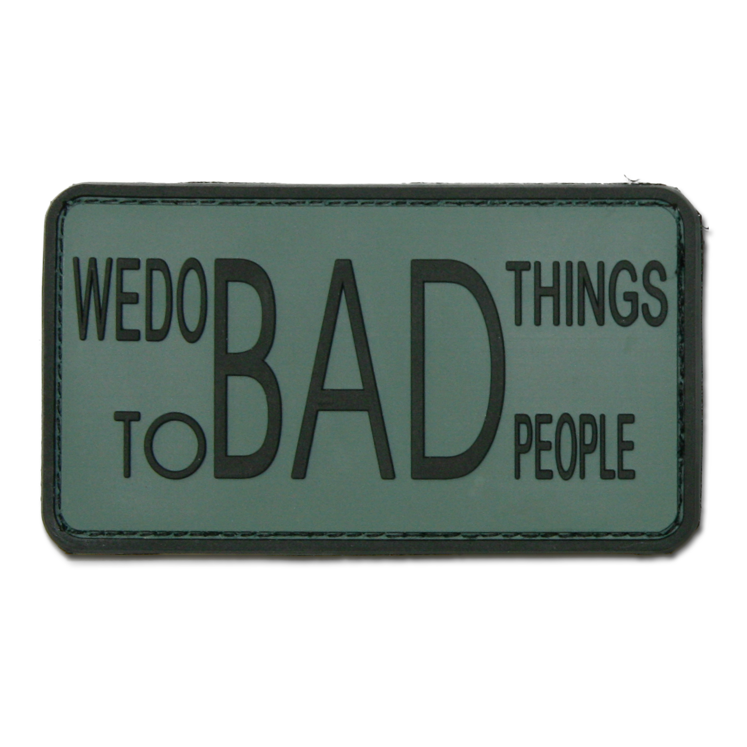3D-Patch We do bad things to bad people foliage
