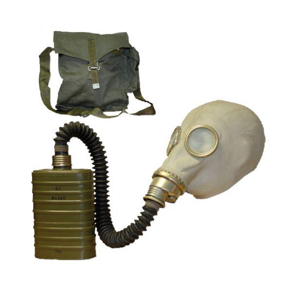 Polnische Atemschutzmaske Sz M41 grau gebraucht