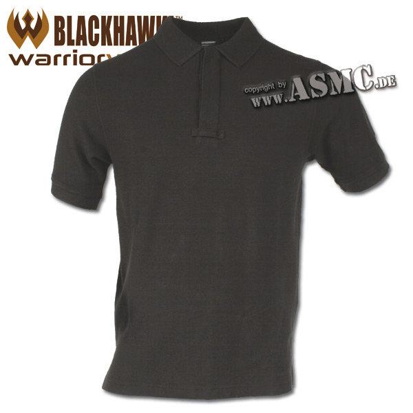 Blackhawk Cotton Polo Shirt schwarz