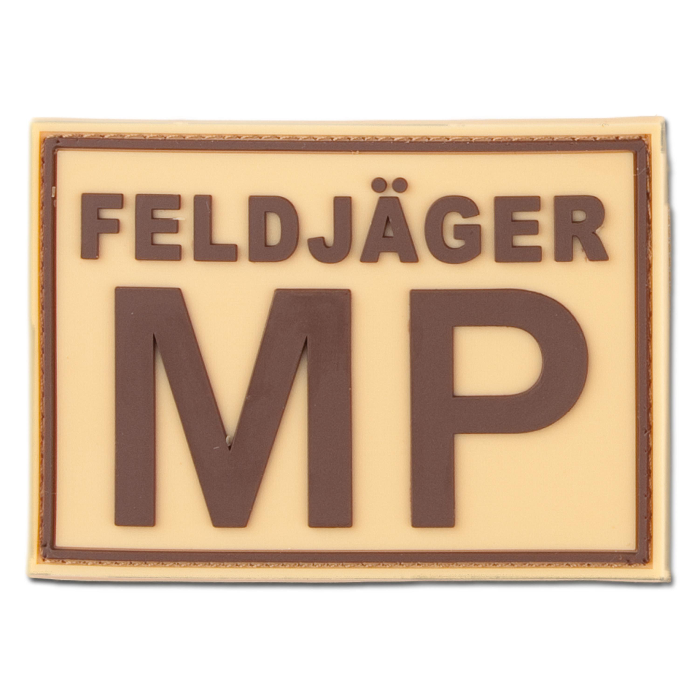 3D-Patch FELDJÄGER MP desert