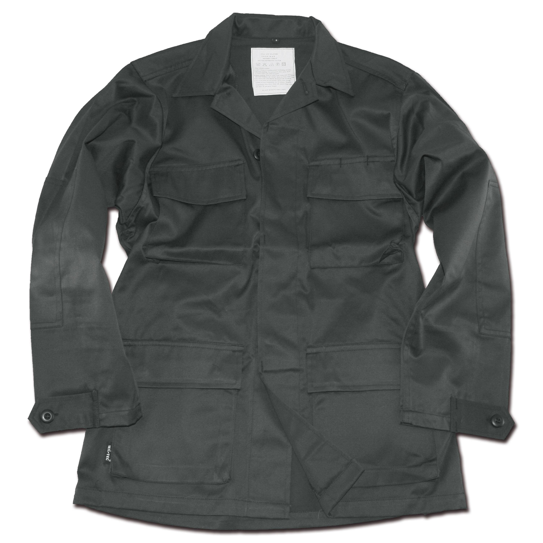 BDU Feldjacke Style schwarz