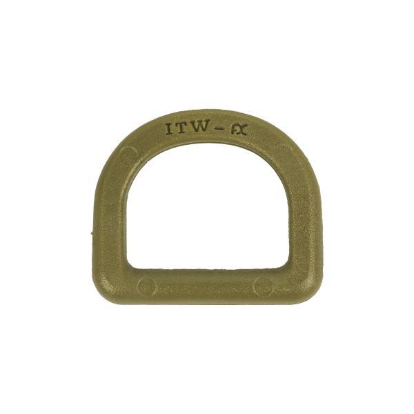 ITW Nexus D-Ring 25mm oliv