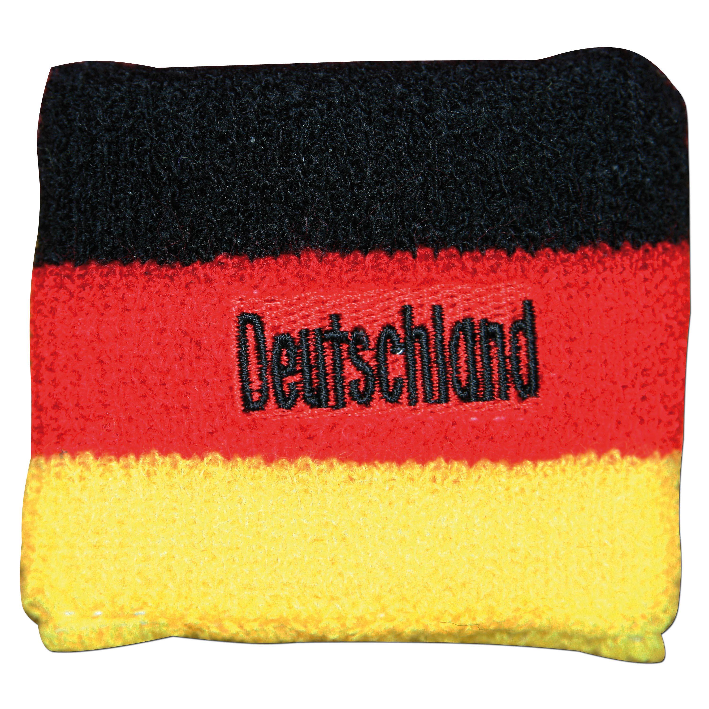 FAN Schweißband Deutschland Flagge