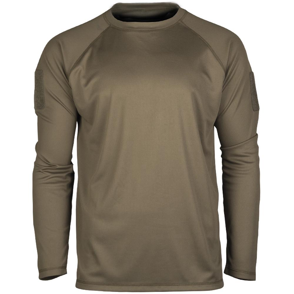 Mil-Tec Tactical Quick Dry Langarmshirt oliv