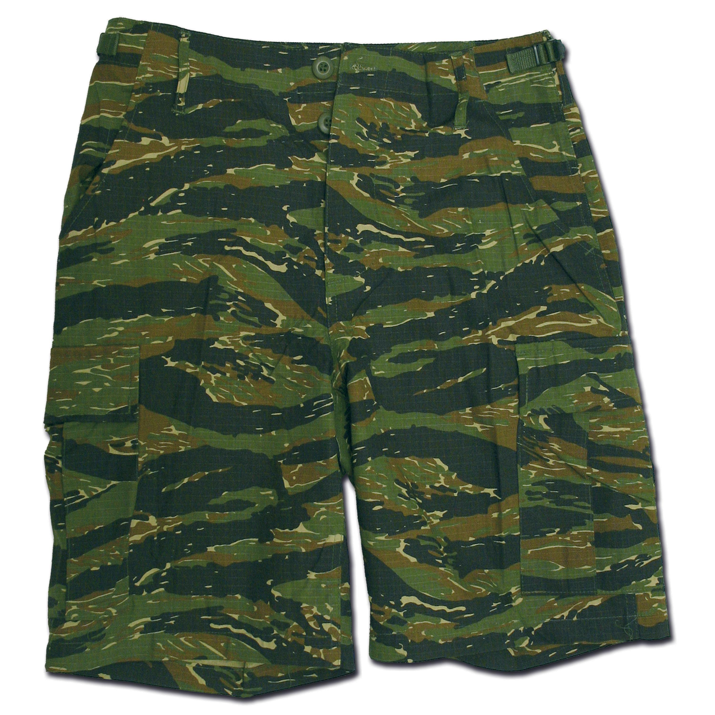 Bermuda Shorts Rip-Stop tigerstripe