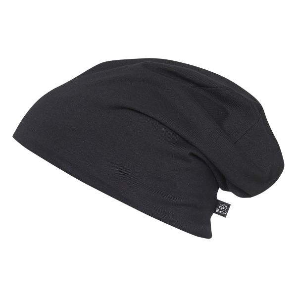 Brandit Beanie Jersey bicolor schwarz hellgrau