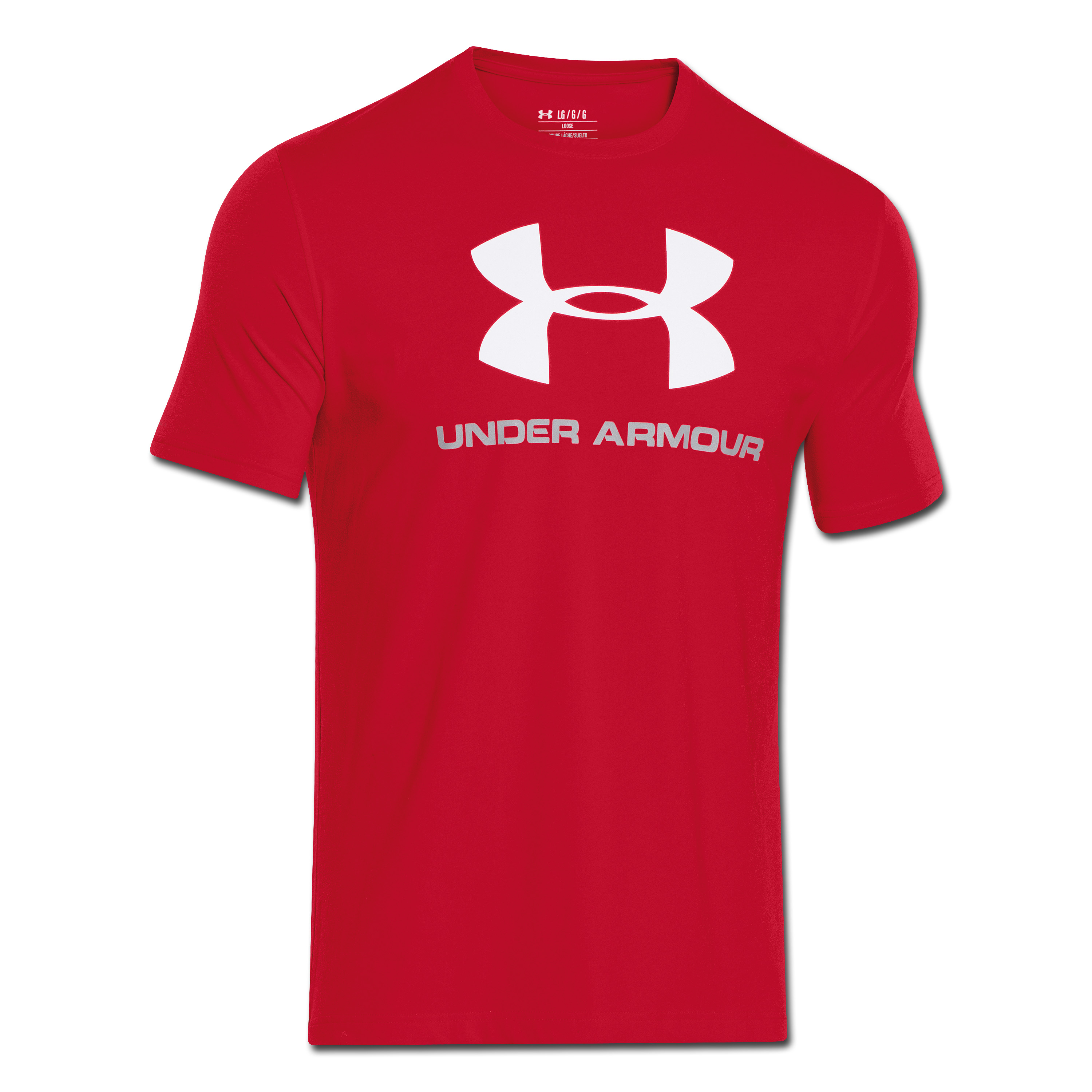 Under Armour Shirt Sportstyle Logo rot