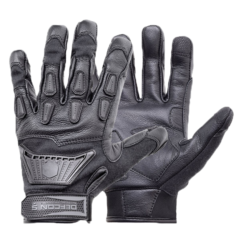 Defcon 5 Handschuhe Impact schwarz