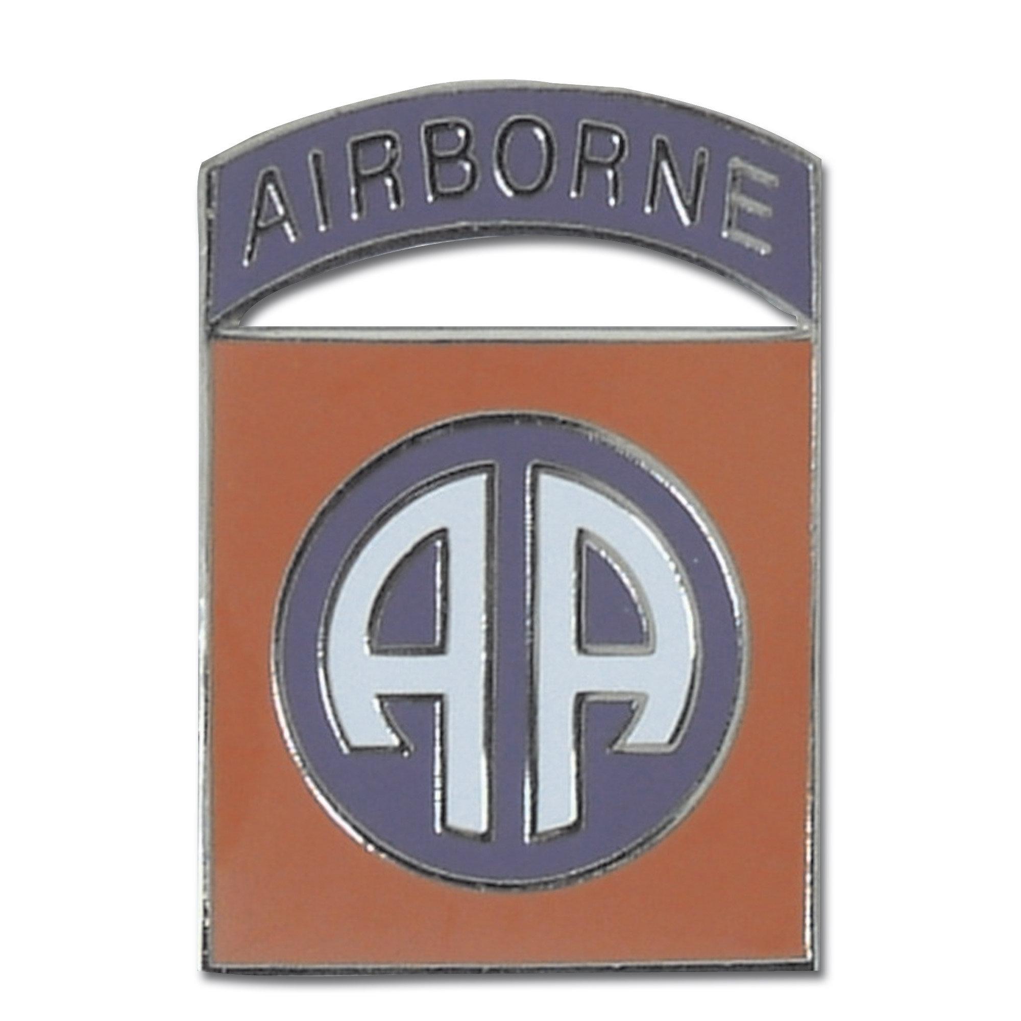 Abzeichen Pin 82nd Airborne