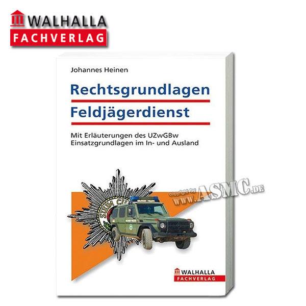 Buch Rechtsgrundlagen Feldjägerdienst