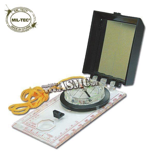Kartenkompass mit Abdeckung