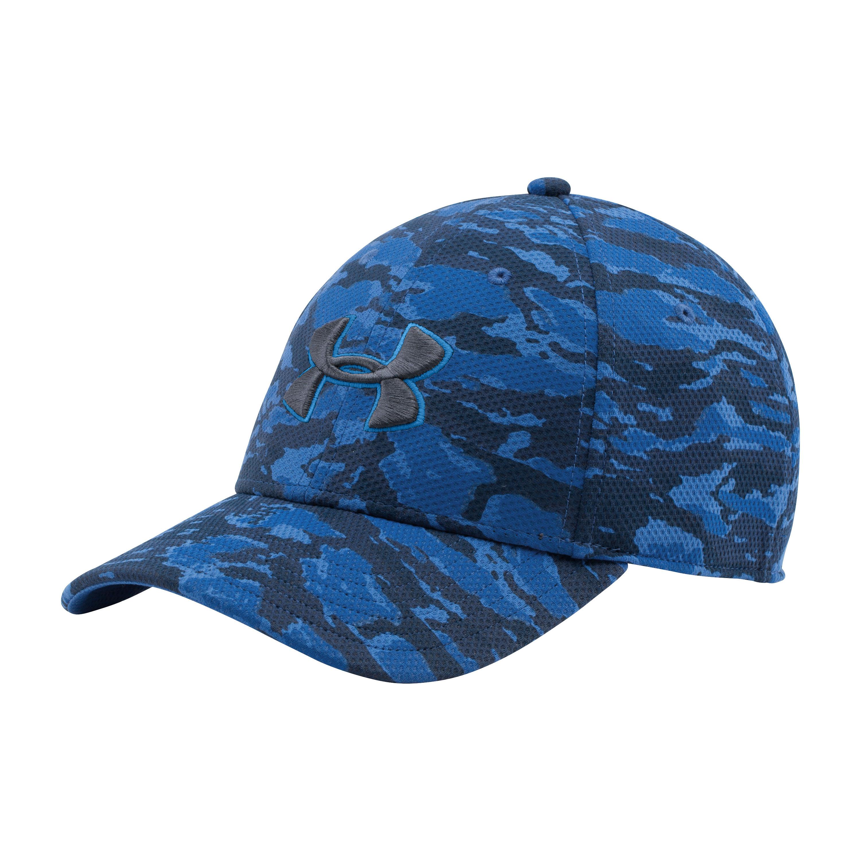 Under Armour Cap T-Camo Blitzing Stretch blau