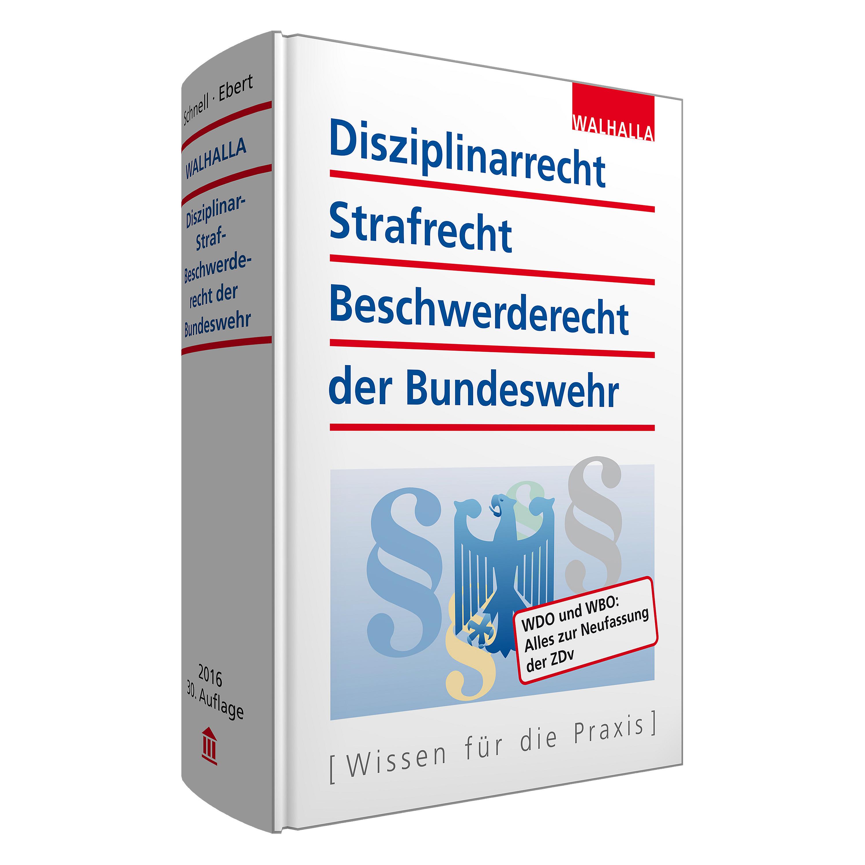 Buch Disziplinarrecht Strafrecht Beschwerderecht 2016