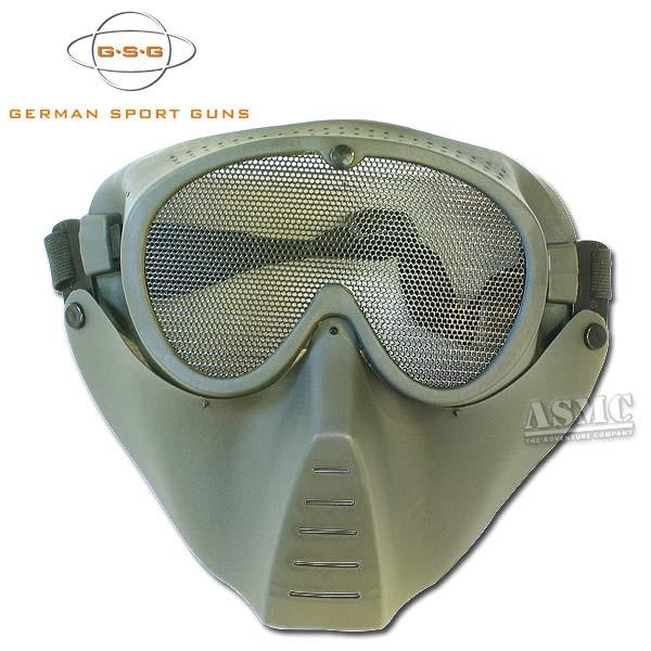Softair Schutzmaske GSG oliv