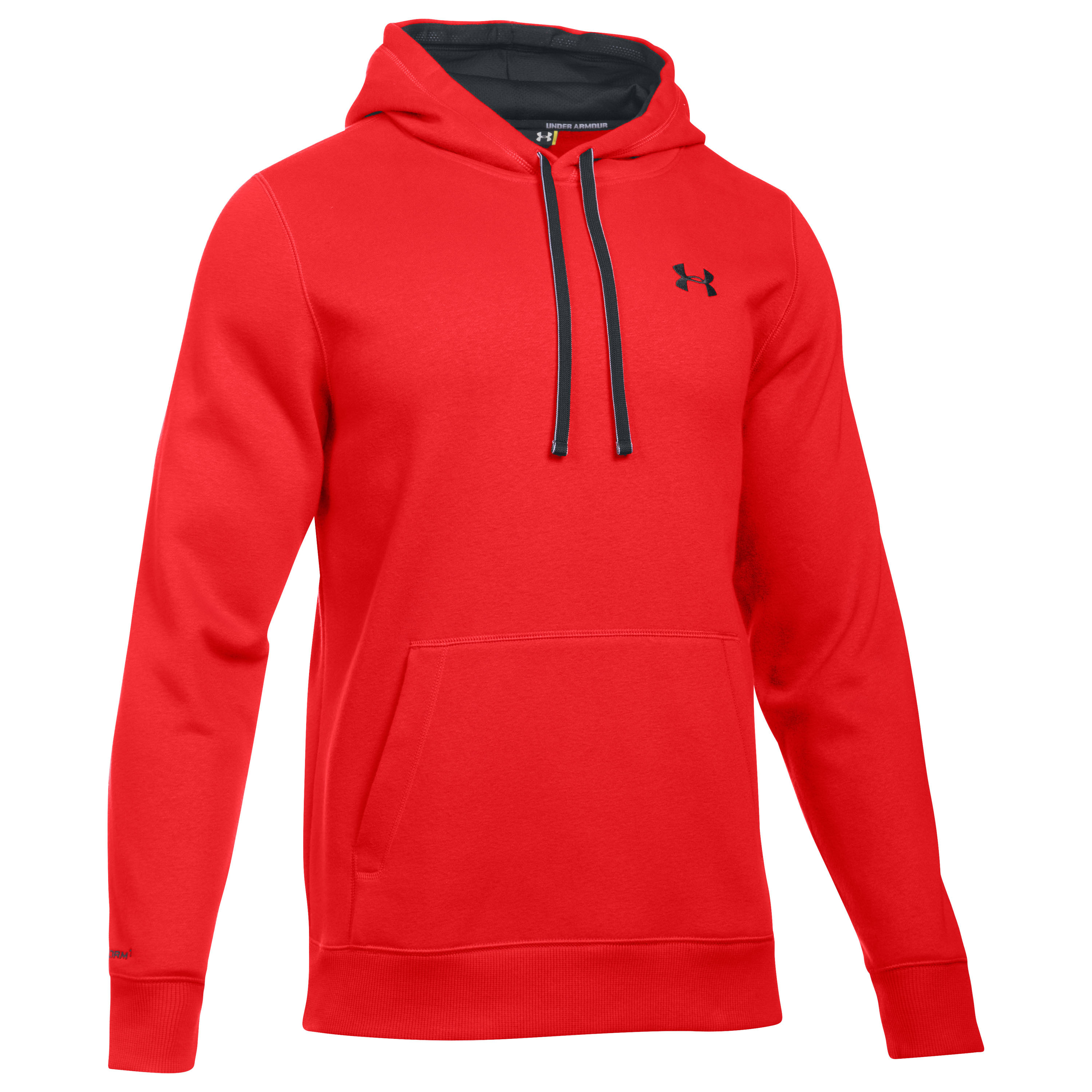 Under Armour Charged Cotton Rival Hoodie rot