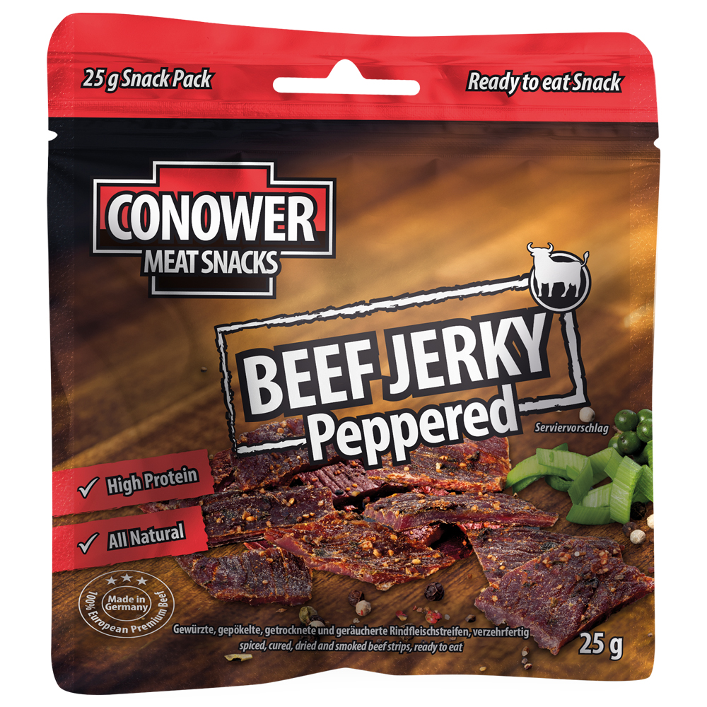 Conower Beef Jerky Peppered 25 g