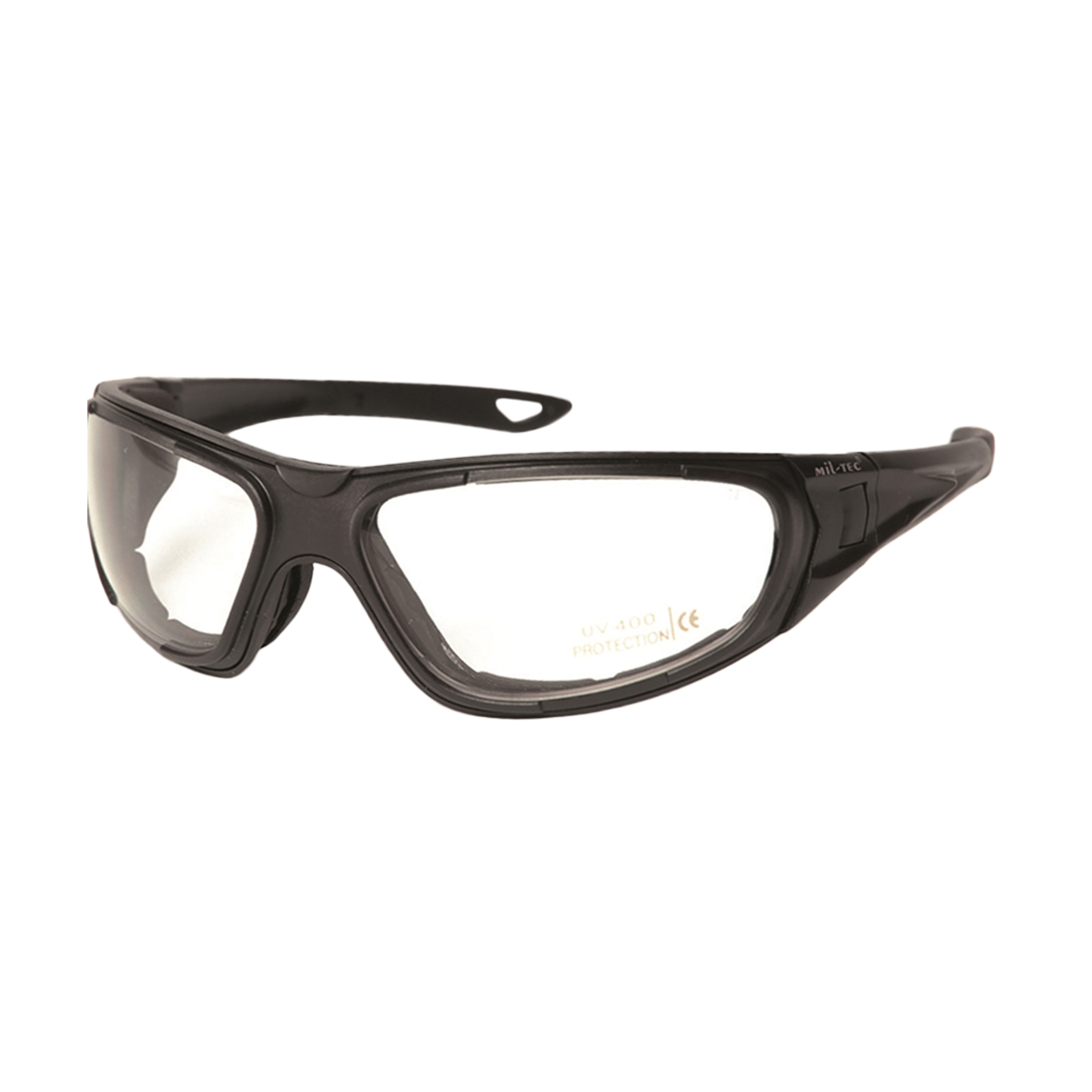 Brille Tactical Goggle 3in1 schwarz