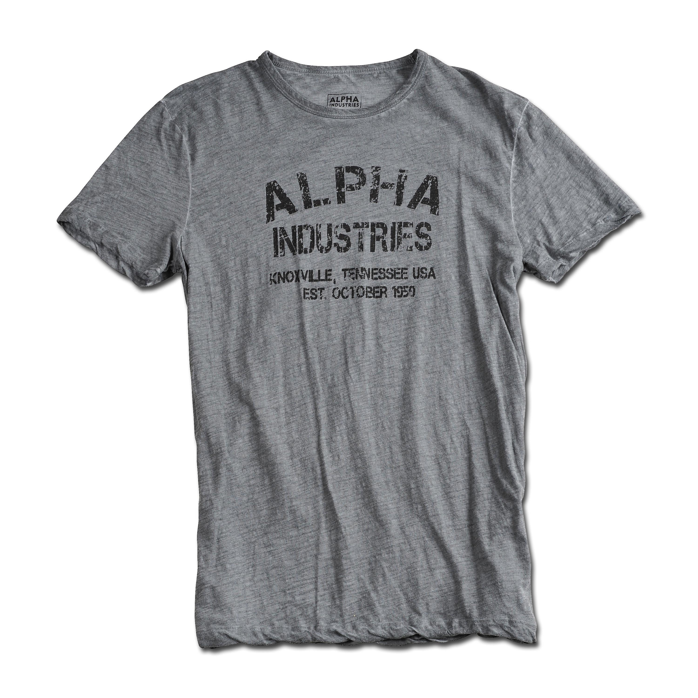 T-Shirt Alpha Industries Desert War grau