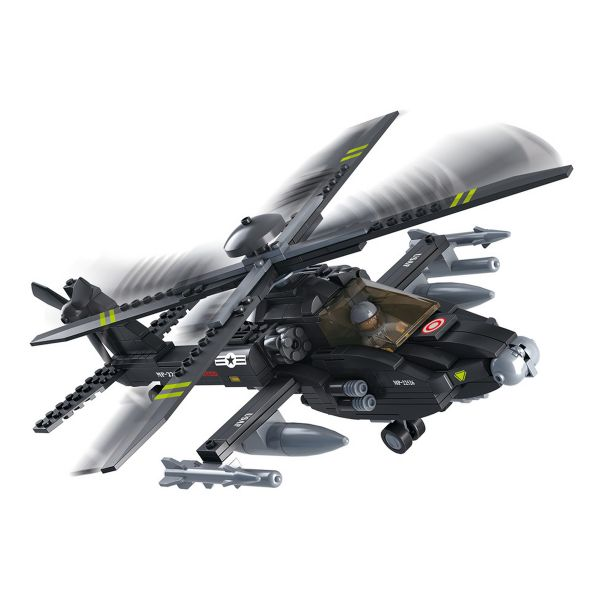 Sluban Apache Hubschrauber M38-B0511