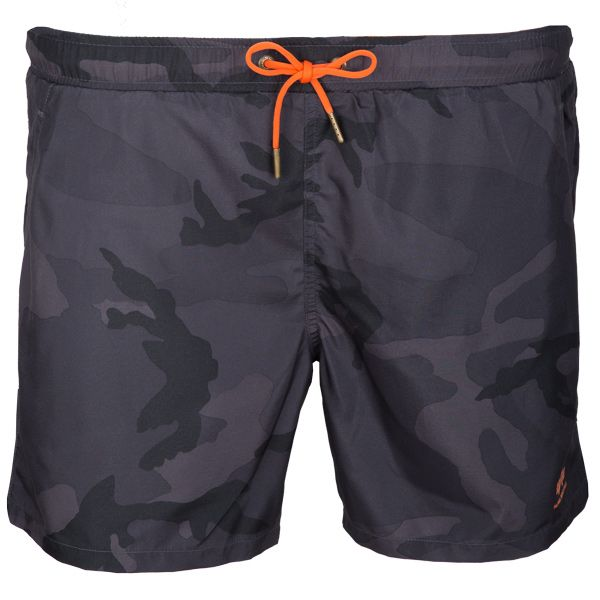 Alpha Industries Badehose Basic Swim Short black camo