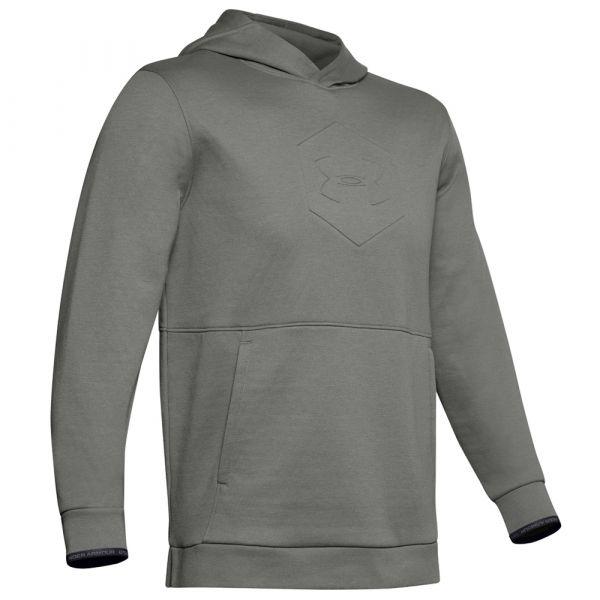 Under Armour Hoodie Athlete Recovery Fleece Graphic gravitygreen