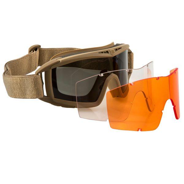 Brille Revision Desert Locust Mission Kit tan orange