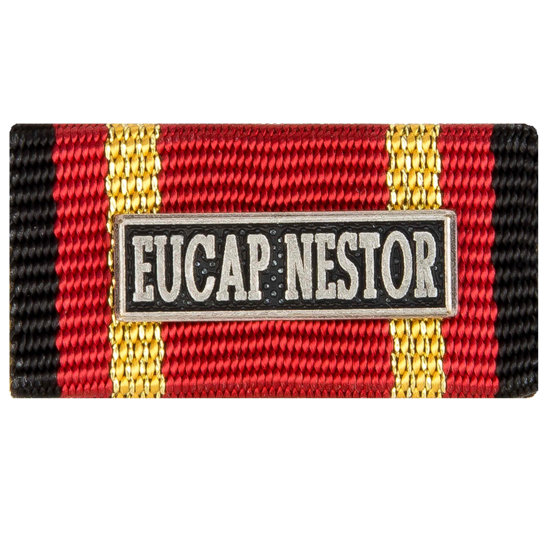 Ordensspange Auslandseinsatz EUCAP NESTOR silber