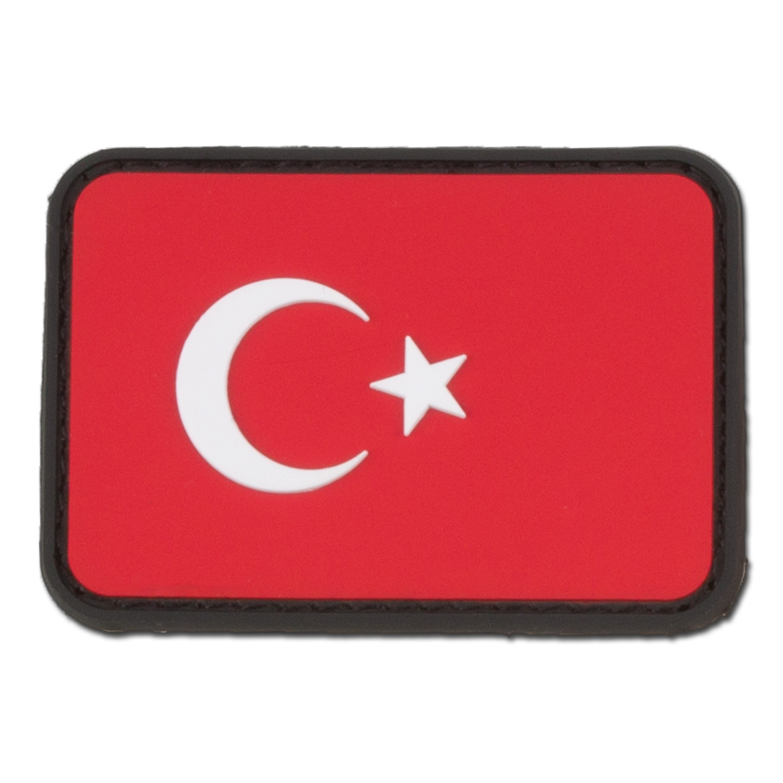 3D Patch Türkei fullcolor