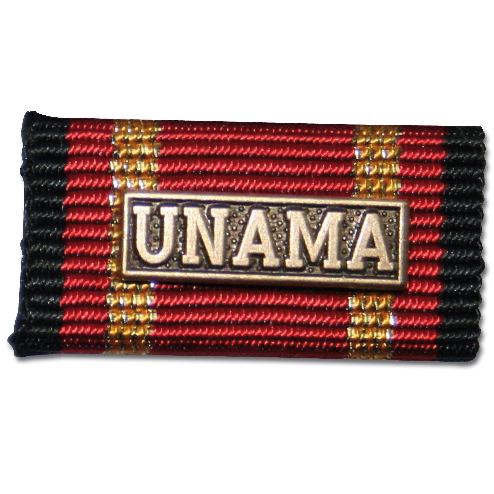 Ordensspange Auslandseinsatz UNAMA bronze