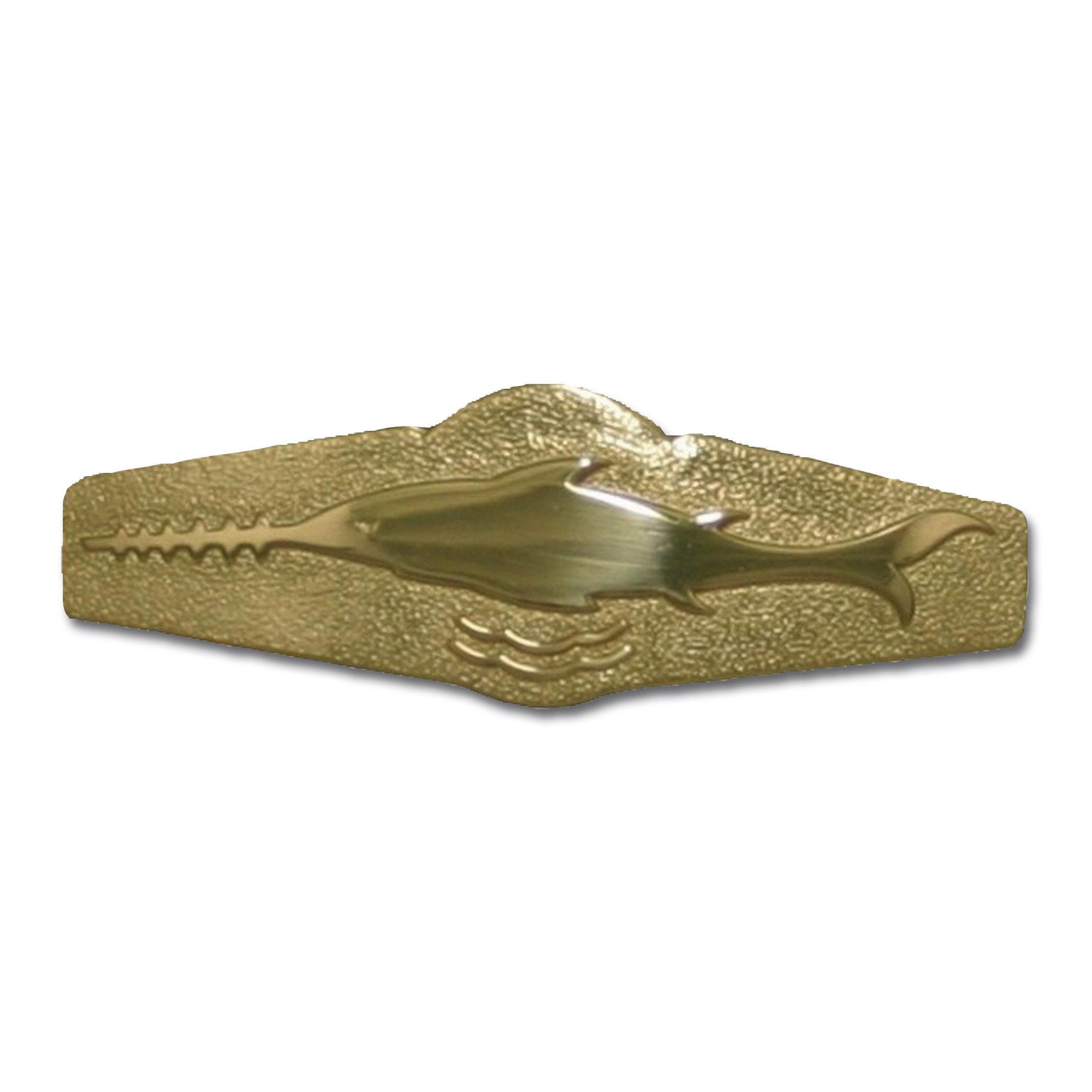 Abzeichen BW Schwimmtaucher Metall gold