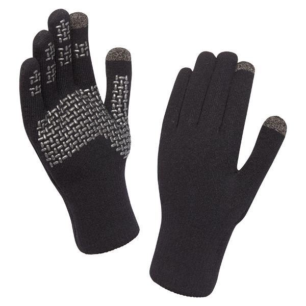 SealSkinz Handschuhe Ultra Grip Touchscreen schwarz