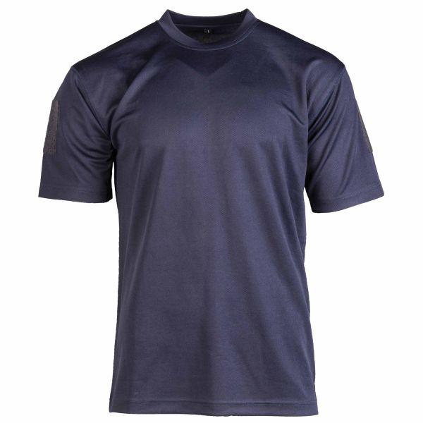 Mil-Tec T-Shirt Tactical Quickdry blau