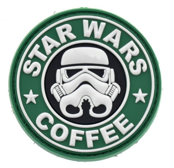 La Patcheria PVC-Patch Star Wars Coffee OD olive