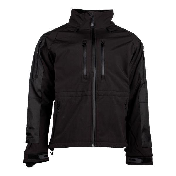 Softshell Jacke Protect schwarz