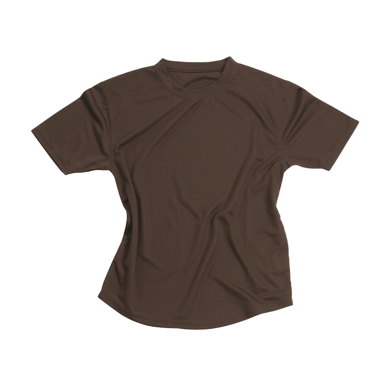 Britisches T-Shirt Coolmax braun gebraucht