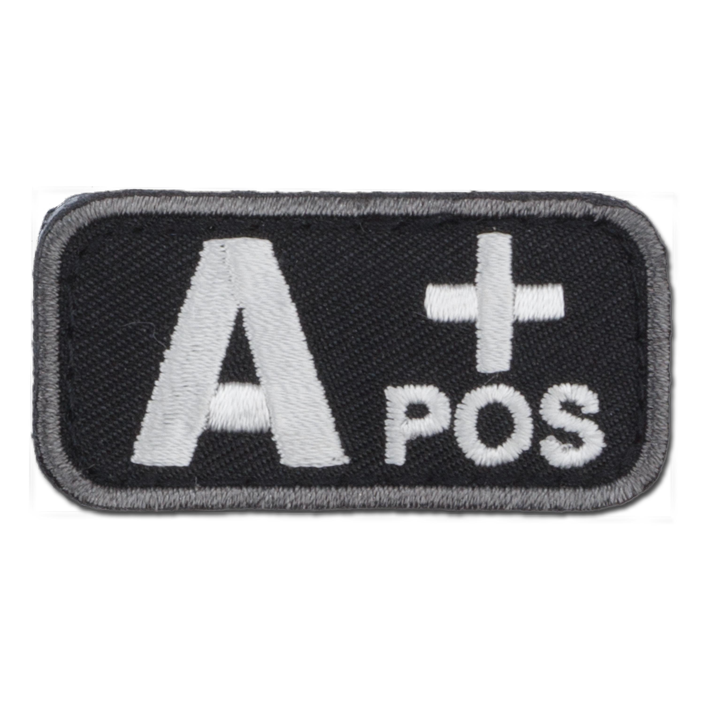 MilSpecMonkey Patch Blutgruppe A Pos swat