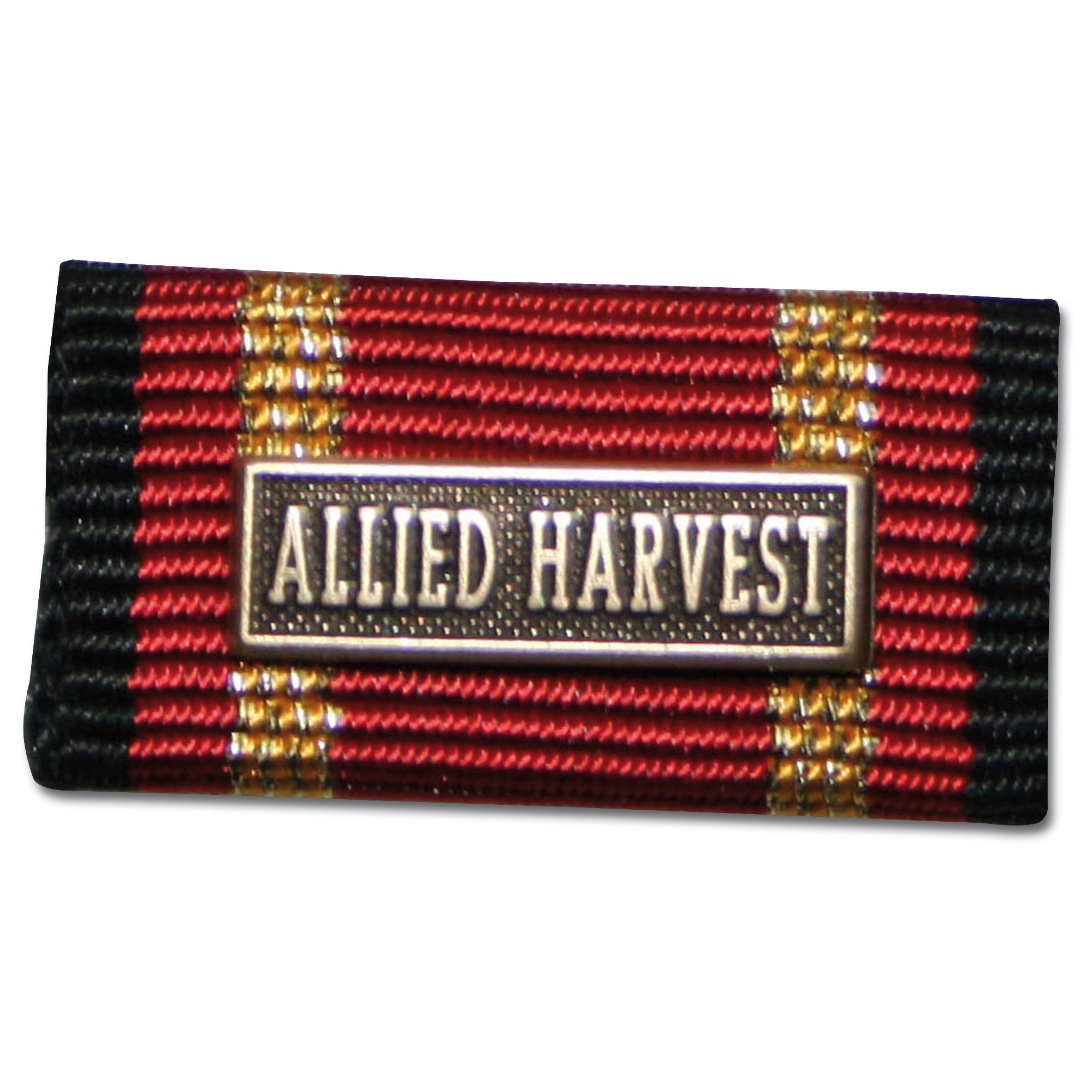 Ordensspange Auslandseinsatz ALLIED HARVEST bronze