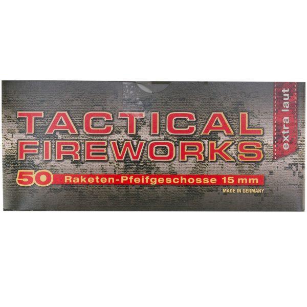 Feuerwerk Tactical Fireworks Pfeifpatronen cal. 15 mm 50 St.