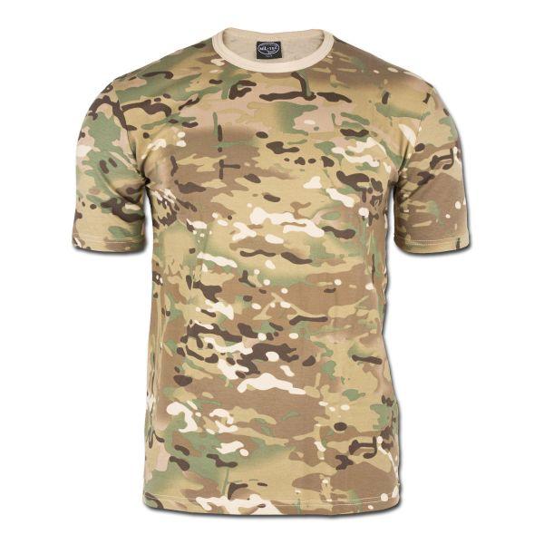 T-Shirt kurzarm Multitarn